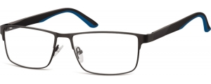 983A;;Negro + azul<br><br>Stainless Steel / Matt finishing;56;15;140