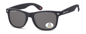 MP1-XL;; Negro + lente ahumada  Polarized - Rubbertouch - Soft Pouch Included ;54;19;150