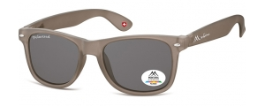 MP1F-XL;; Gris + lente ahumada  Polarized - Rubbertouch - Soft Pouch Included ;54;19;150