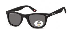 MP41;; Negro  Polarized - Rubbertouch - Soft Pouch Included ;50;22;152