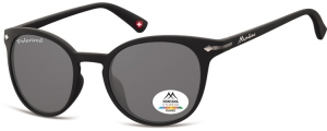 MP50;; Negro + lente ahumada  Polarized - Rubbertouch - Soft Pouch Included ;50;22;140