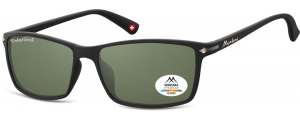 MP51A;; Negro + lente G15  Polarized - Rubbertouch - Soft Pouch Included ;57;17;140