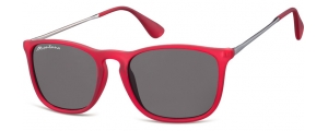 S34B;; Rojo + lente ahumada  Rubbertouch - Soft Pouch Included ;54;18;145