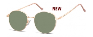 SG-912D;;Oro rosa + lentes G15<br><br>Metal Sunglasses - Optical Quality - UV400 - CAT 3. - Soft Pouch Included;51;18;144