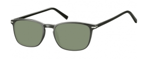 SG-CP120;;Negro + lentes G15Injected CP Sunglasses - Optical Quality - UV400 - CAT 3. - Soft Pouch Included;52;19;140