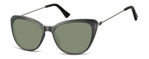 SG-CP121;;Negro + lentes ahumadasInjected CP Sunglasses - Optical Quality - UV400 - CAT 3. - Soft Pouch Included;51;17;145