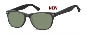 SG-CP134;; Negro + lentes G15  Injected CP Sunglasses - Optical Quality - UV400 - CAT 3. - Matt finishing - Soft Pouch Included ;53;19;147