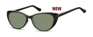 SG-CP138;;Negro + lentes G15FlexInjected CP Sunglasses - Optical Quality - UV400 - CAT 3. - Soft Pouch Included;52;16;142