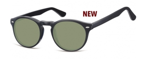 SG-CP148A;; Negro + lentes G15 Flex Injected CP Sunglasses - Optical Quality - UV400 - CAT 3. - Soft Pouch Included ;49;21;145