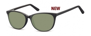 SG-CP152;; Negro + lentes G15 Flex Injected CP Sunglasses - Optical Quality - UV400 - CAT 3. - Soft Pouch Included ;52;16;145