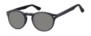SS-CP148A;;Negro + lentes ahumadasFlexInjected CP Sunglasses - Optical Quality - UV400 - CAT 3. - Soft Pouch Included;49;21;145