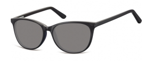 SS-CP152;;Negro + lentes ahumadasFlexInjected CP Sunglasses - Optical Quality - UV400 - CAT 3. - Soft Pouch Included;52;16;145