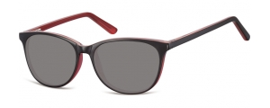 SS-CP152F;;Negro + rosa + lentes ahumadasFlexInjected CP Sunglasses - Optical Quality - UV400 - CAT 3. - Soft Pouch Included;52;16;145